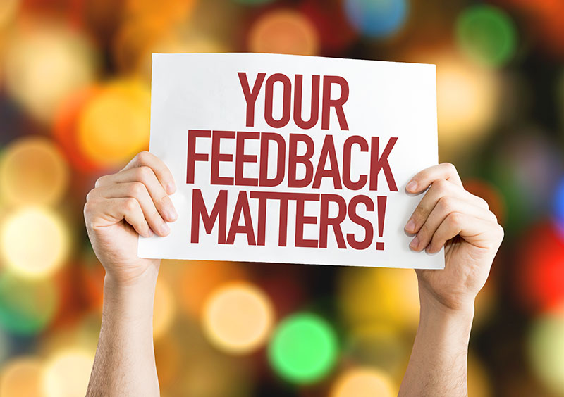 Your Feedback Matters Form